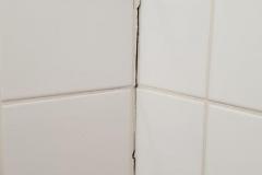 vorgefundene Situation der Duschecke